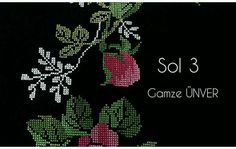 Embroidery Flowers Pattern, Cross Stitch Embroidery, Flower Patterns, Cross Stitch Patterns, Palestinian Embroidery, Baby Knitting Patterns, Blackwork, Needlework, Diy Crafts