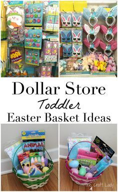 Toddler boy easter basket idea dollar tree hoppy easter toddler approved dollar store easter basket ideas negle Image collections