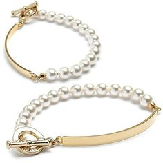 Korean women fashion jewelry Shopping mall [FRANCISKAY] Geo French Pearl Bar Bracelet / Price : 46.85 USD #acc #accessory #jewelry #celebritiesjewelry #Bracelet #fashionitem #FRANCISKAY  http://www.franciskay.net/