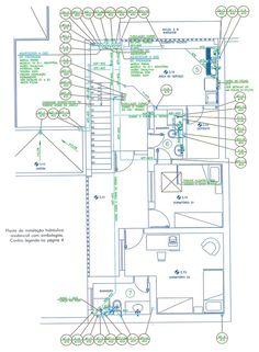 A planta hidráulica, ou projeto hidráulico, é um dos documentos mais importantes de uma obra. Obedecendo-a corretamente, ganha-se muito em tempo e dinheiro