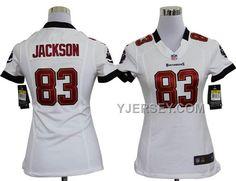 http://www.yjersey.com/discount-nike-buccaneers-83-jackson-white-women-game-jerseys.html DISCOUNT NIKE BUCCANEERS 83 JACKSON WHITE WOMEN GAME JERSEYS Only 36.00€ , Free Shipping!