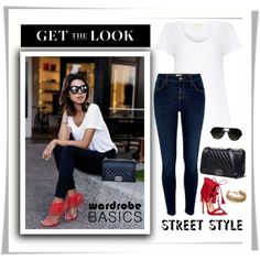 with what to wear dark blue jeans 4