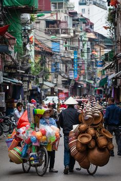 Old Quarter, Hanoi, Vietnam. One of my favorite part of the city