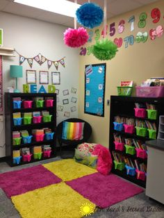 My 2014-2015 classroom will be on the blog as soon as I finish it up!     Until then, here's a peek at my classroom from last year:   (A...