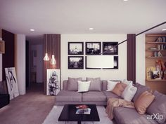 living room Parlour, Interior Design Living Room, Moscow, Sweet Home, Lounge, Homes, Couch, Interiors, Group
