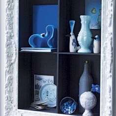 Flur Diele Wohnideen Möbel Dekoration Decoration Living Idea Interiors home corridor - Gerahmte Display