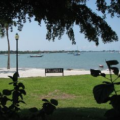 Sarasota, Florida. Been there and the white sand is gorgeous!