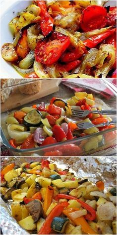 Marinated vegetables are fantastically delicious! Marinated Vegetables, Baked Vegetables, Gourmet Recipes, Cooking Recipes, Healthy Recipes, New Recipes For Dinner, Russian Recipes, Cauliflower Recipes, Vegetable Dishes