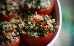 Tomates Farcies (Stuffed Tomatoes)