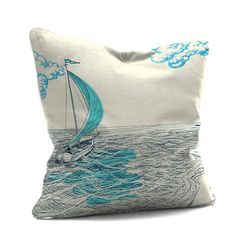 Are you interested in our sailing yacht printed cushion? With our nautical cushion you need look no further.