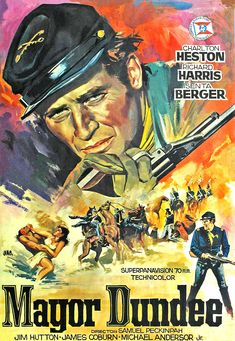 Una Pagina de Cine 1965 Mayor Dundee