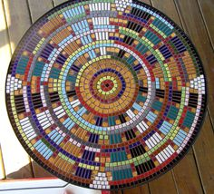 Mosaic Table Patterns | Out On The Porch - Mosaics