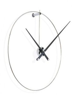 nomon - New Anda Wanduhr, Stahl / schwarz Home Clock, Clock Art, Diy Clock, Clock Decor, Unusual Clocks, Cool Clocks, Estilo Rihanna, Contemporary Clocks, Wall Watch