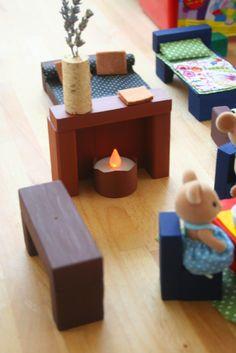diy, muebles para muñecas                                                                                                                                                                                 Más