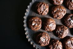 Gorgeous Salted Chocolate-Rye Cookies from Salted Sugared Spiced Blog
