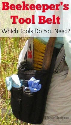 Beekeeping 101 - So you have decided to improve your homestead, farm or garden by getting bees. But what are the beekeeping tools you will need to be a success? Why do you need them and what will they cost? #backyardbeekeeper