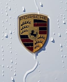 Porsche logo from my new 911 Carrera S