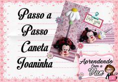 Neste Vídeo ensino a fazer uma Linda Caneta Joaninha utilizando o Molde Mini Pets P da Neia Silveira. Fácil e Rápido. Aumente suas Vendas!!! ------------ SE ...