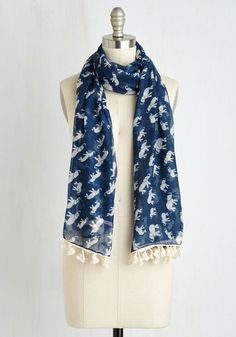 Herds with Friends Scarf From The Plus Size Fashion Community At www.VintageAndCurvy.com