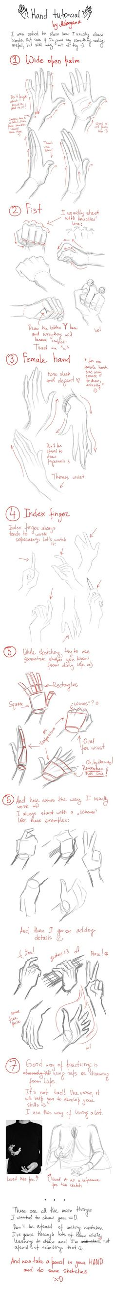 Hands tutorial (Hands are the worst, this will definitely come in handy. No pun intended)