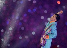 "Photo: Prince Performing""Purple Rain"" (2007) Photographer Unknown +Yossy…"
