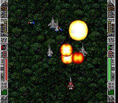ala scroller space invaders _Strike Gunner S.T.G. [SNES, 1992, US]