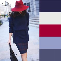 Tip to match color combinations to compose the perfect outfit Pinner Conseil pour assortir les coule Colour Combinations Fashion, Color Combinations For Clothes, Fashion Colours, Colorful Fashion, Color Combos, Color Matching Clothes, Matching Outfits, Matching Colors, Color Pairing