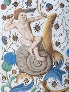 S for Snail: Medieval snails...