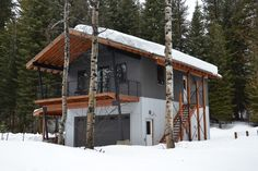 Cabin Style House Plan - 1 Beds 2 Baths 2401 Sq/Ft Plan #910-3 Exterior - Front Elevation - Houseplans.com