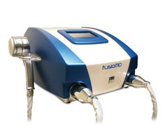 FusioMed is a compact multifunction platform providing effective treatment of #wrinkles, facial and body #skin #laxity, #acne and enlarged #pores, localised #fat and #cellulite, both oedematous and fibro-sclerotic, and it is also extremely effective in treatments before and after #liposuction. It exploits 4 different technologies: Monopolar Radiofrequency, Bipolar Radiofrequency, Low Frequency #Cavitational Ultrasound and Sub-dermal #Vacuum #Massage.