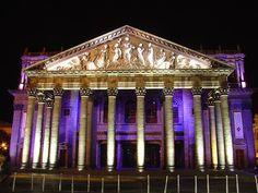 Teatro Degollado in Guadajara, Jalisco, Mexico. Beautiful buildings!