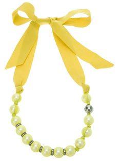 Lanvin - faux collier de perle 1
