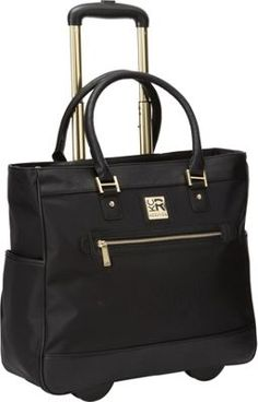 "Kenneth Cole Reaction Call It Off 17"" Tote Black - via eBags.com!"