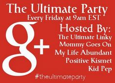 The Ultimate Party on G+, Week 4 #google+ #party - The Ultimate Linky