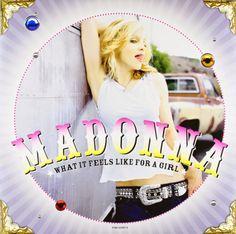 """VINIS E CDS COM LINK PARA COMPRA SEGURA NO MERCADO LIVRE. CLIQUE EM """"COMPRE AQUI"""" A CADA POSTAGEM: Madonna What It Feels Like For A Girl - Vinil Sing..."""