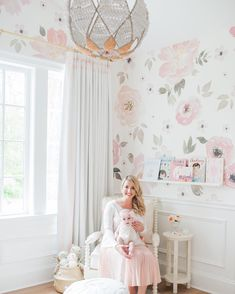 Happy Wednesday! We're starting the day with the sweetest nursery tour ever @monikahibbs is sharing her baby girl's bright, airy & blush nursery that she designed with @oilostudio . Who else wishes they had this room when they were younger Take the full tour & get all the pretty details on glitterguide.com today ✨link in bio✨ by @blushwedphotos #OnGGtoday #ggathome