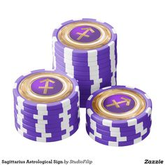 Sagittarius Astrological Sign Poker Chip Set   17% OFF all orders for custom luck   USE CODE: PUSHYOURLUCK at checkout   Good through Thursday Midnight (March 17, 2016 11:59PM PT).