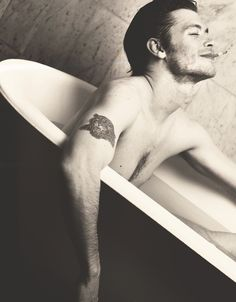 I'm pretty sure I stopped breathing when I saw this. Joseph Morgan... hmmm.