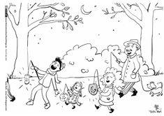 sankt martin-mandala im kidsweb.de | laternenumzug