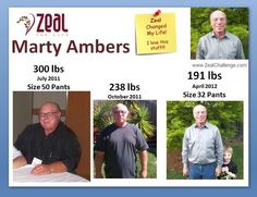 This is Awesome Testimony from Marty Ambers  for more info go to www.facebook.com/freemanszealforlife  fan page and hit the like button and ask for free samples of the Zeal Wellness formula. They also have Zeal Weight Management shakes also. They say TRY IT! LIKE IT! LOVE IT! ZEAL FOR LIFE!!!!!!  Take the Zeal Challenge