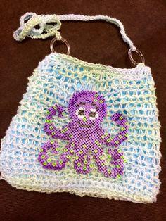 Under the Sea Crochet Purse by LFDSIStore on Etsy