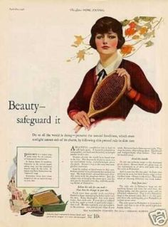 "Palmolive Soap Ad ""Beauty...safeg (1926)"
