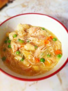 Crockpot Chicken and Dumpling