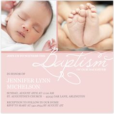 Looking for baptism & christening invitations? Check out Mixbook's Elegant Baptism cards. Baby Dedication Invitation, Baptism Invitation For Boys, Christening Invitations Boy, Christening Party, Invitation Wording, Invitation Templates, Catholic Baptism, Baptism Cards, Baby Boy Baptism