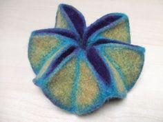 Julia Rossi: Fieltro Internacional: Origami en fieltro de la mano de Andrea Noeske-Porada