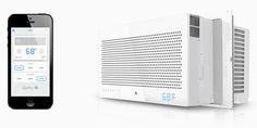 This App-Controlled Air Conditioner Automatically Adjusts to Your Habits | Gadget Lab | Wired.com
