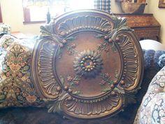 30 inch round fan/chandelier/wall art medallion by devarrs on Etsy, $985.00