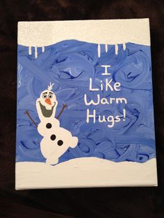 Olaf (Frozen) canvas