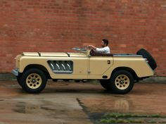 Now that's a land rover....