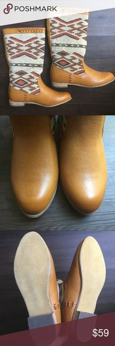 ✨HOST PICK✨ NEW Aztec Southwestern Riding Boots New and never worn. Manmade materials. Wanted Shoes